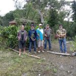 ESSA Mindanao Cluster visits Katandungan Ancestral to do Farm Analysis and Plant Donated Coffee Seedlings
